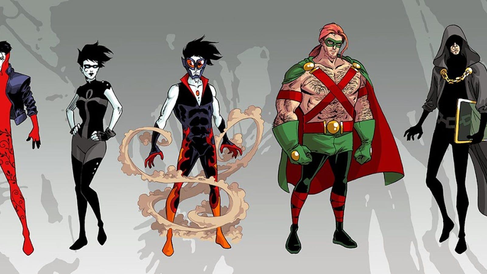 Sandmans Endless Reimagined As Superheroes
