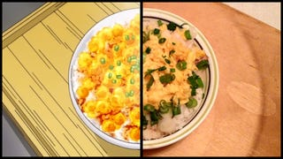 Illustration for article titled Food Wars Recipes in Real Life #2: Transformation Rice (Furikake Gohan)