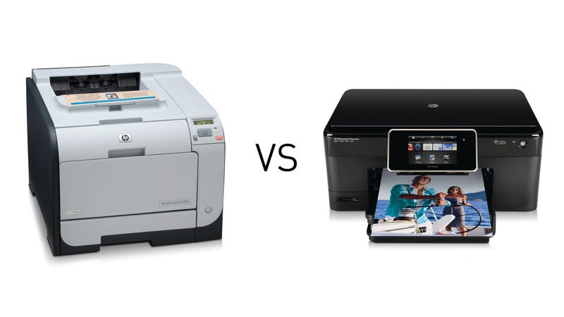 Illustration for article titled Do You Prefer Laser or Inkjet Printers?