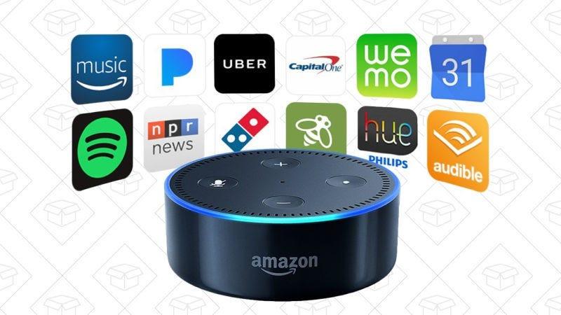 Echo Dot de segunda mano, $30