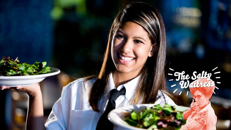 Ask The Salty Waitress: Should I let my teenage daughter wait tables?