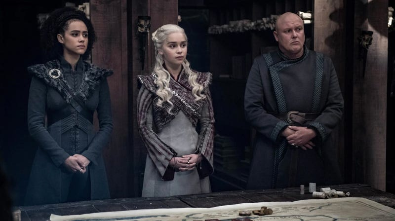 In retrospect, the framing of these two characters around Daenerys Targaryen is pretty telling.