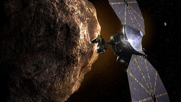 NASA'S Lucy Spacecraft Will Carry a Time Capsule for Future Earthlings