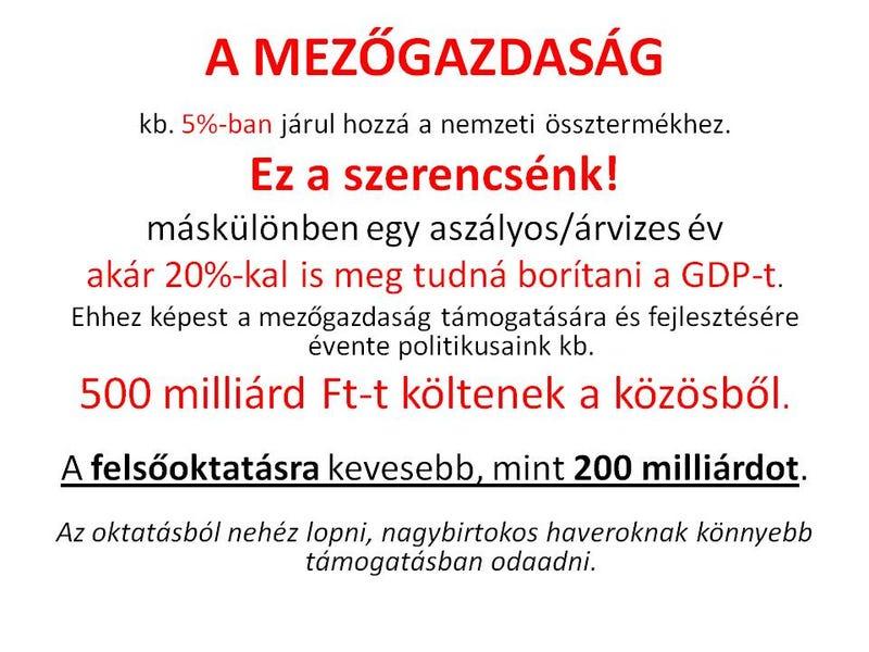 Illustration for article titled Jó dolog a mezőgazdaság, csak ne dimenzionáljuk túl a fontosságát