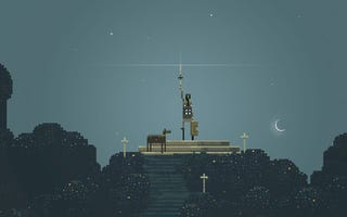 Illustration for article titled Sword & Sworcery, The iPhone's Mysterious Adventure, Is Powered By The Moon
