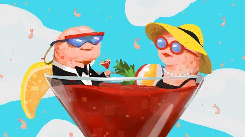 Illustration for article titled How to make shrimp cocktail like a fancy bastard