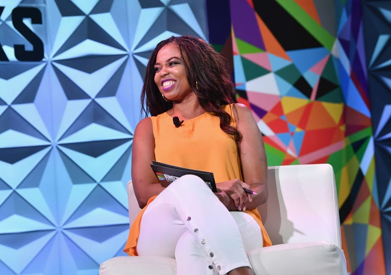 c58be71ddd8e Jemele Hill speaks onstage at the Genius Talks sponsored by AT amp T during  the 2018