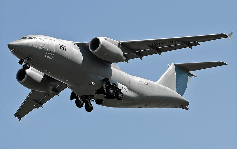 Illustration for article titled Saudi Arabia Is Buying 30 Of These New Ukrainian-Built Military Cargo Planes