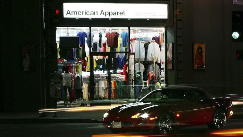 Illustration for article titled American Apparel Set to Shutter Original Location