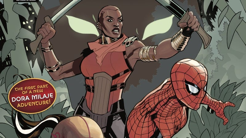 Illustration for article titled The Dora Milaje head to New York City in this Wakanda Forever exclusive