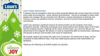 Illustration for article titled Lowe's Facebook Page Explodes With Bigoted Hate Speech