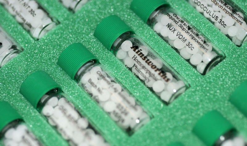 Compuestos homeopáticos. Foto: Philippa Willitts / Flickr