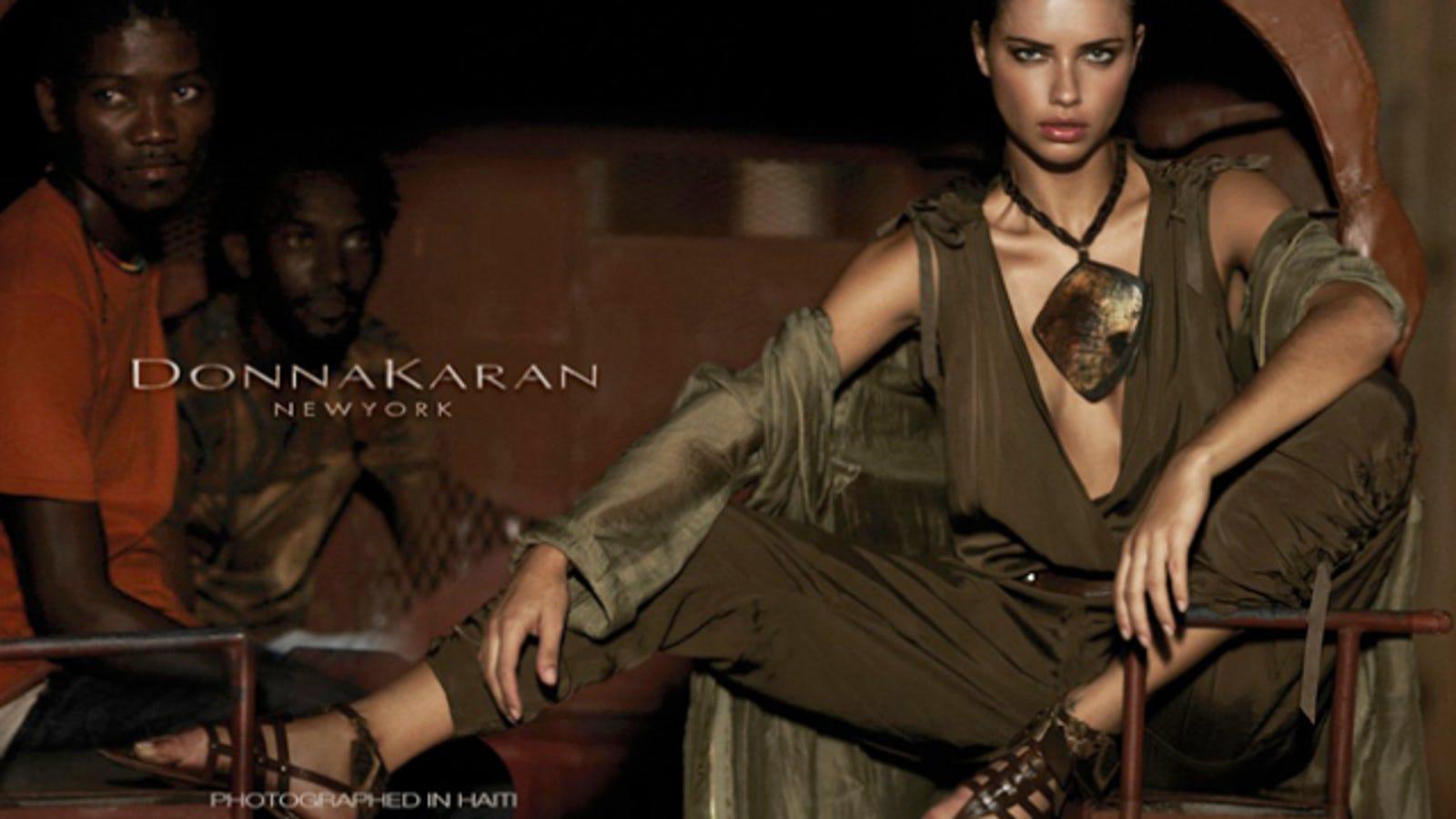 7ec442bd14b47 Donna Karan Shoots Ad Campaign In Haiti
