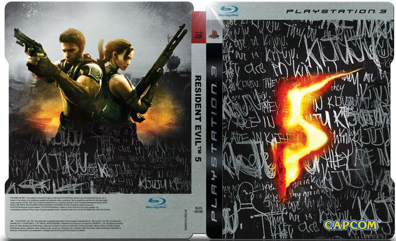 Illustration for article titled Europe's Resident Evil 5 Collector's Edition: Kijuju, Yo