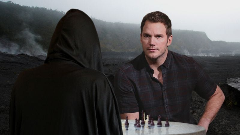 Illustration for article titled Heartwarming: When Chris Pratt Heard A Young Fan Was Dying, He Challenged Death To A Chess Match For The Kid's Life