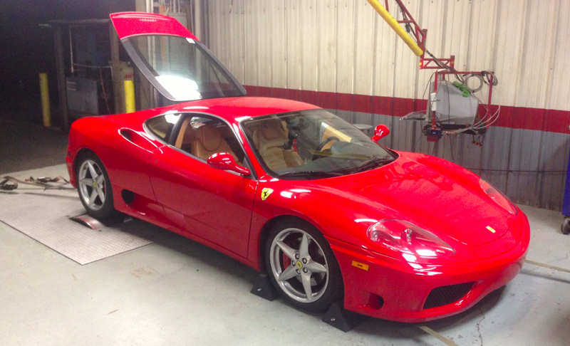 Illustration for article titled I Took My Ferrari To The Dyno To See How Much Horsepower It Has