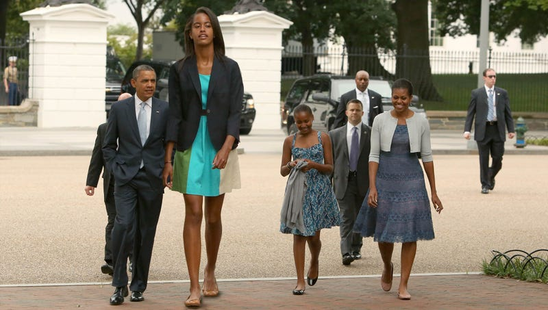 Illustration for article titled White House Officials Confirm Malia Obama Now Seven Feet, Nine Inches Tall