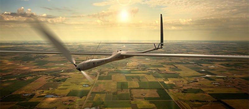 Illustration for article titled Google compra la compañía de drones solares Titan Aerospace