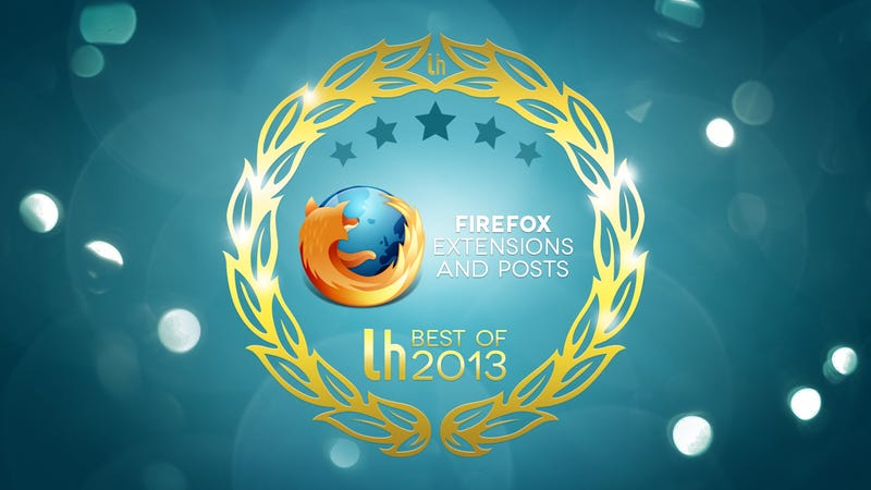 Illustration for article titled Most Popular Firefox Extensions and Posts of 2013