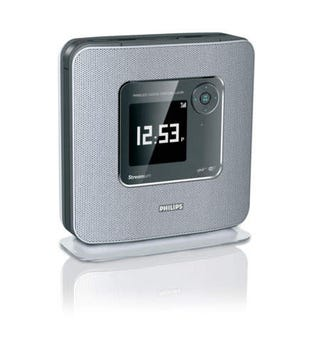 Illustration for article titled Philips Streamium WAK3300 WiFi Alarm Clock