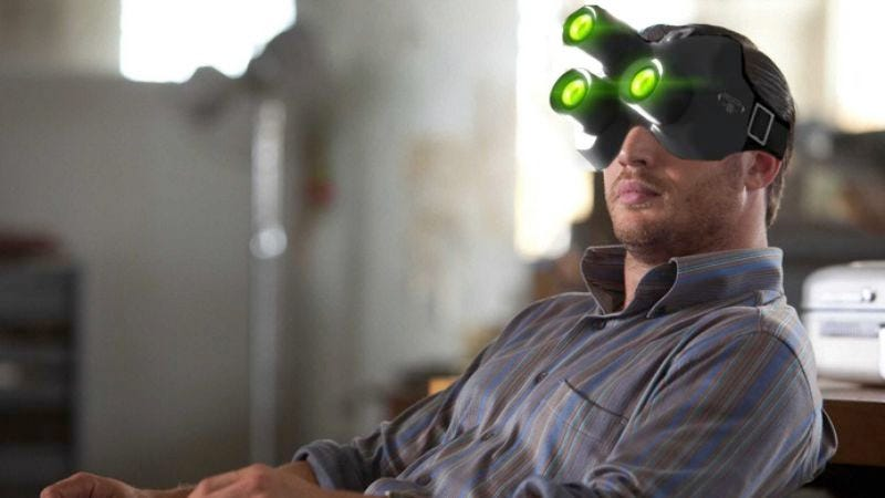 Illustration for article titled Tom Hardy picked to co-star alongside goggles in Splinter Cell movie