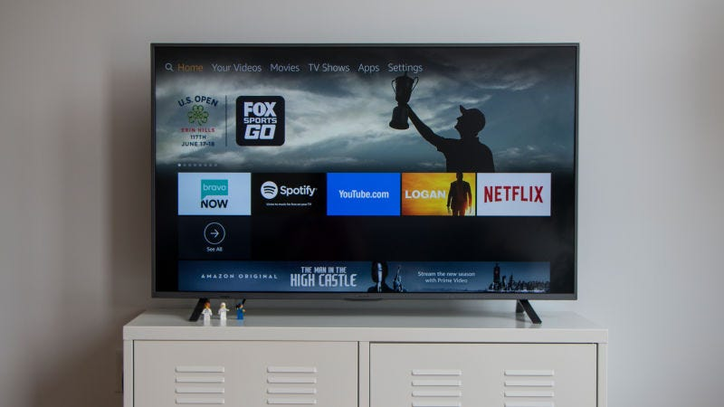 "Element 65"" 4K TV - Fire TV Edition 