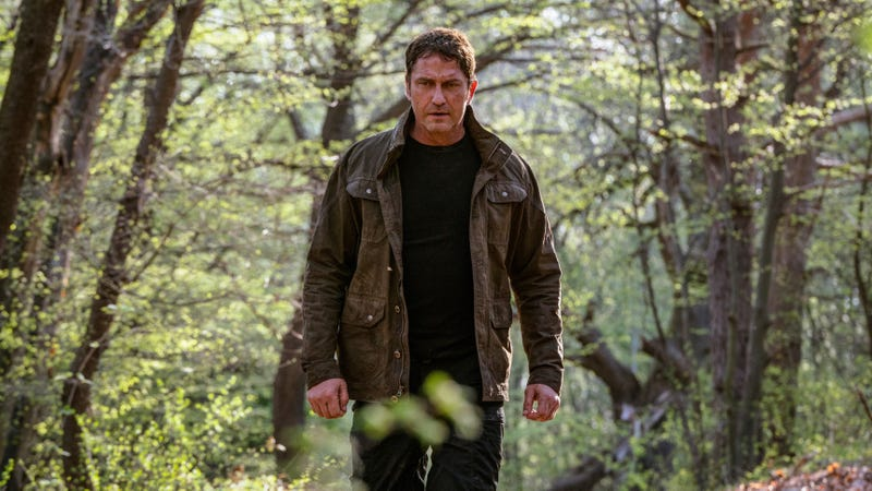 Gerard Butler, looking as confused as we are by the ongoing success of this franchise.