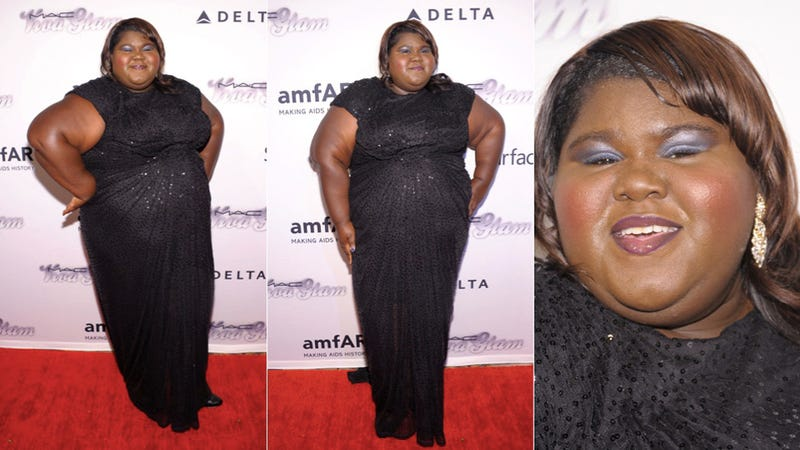 Illustration for article titled Gabby Sidibe Is Sparkle in Motion