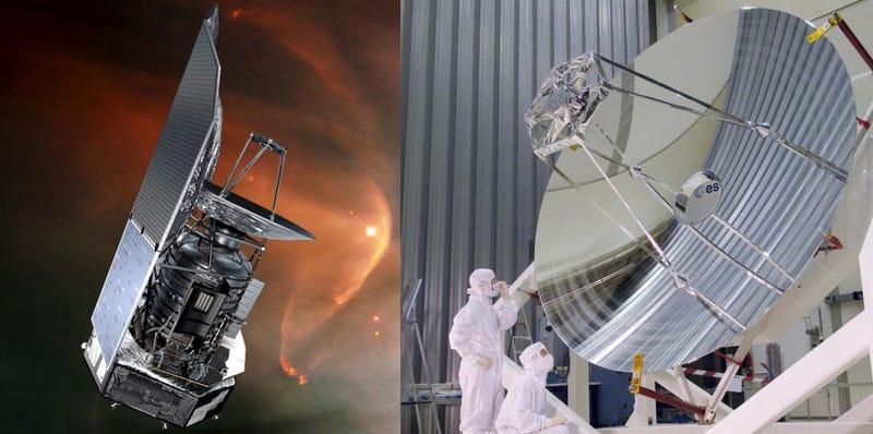 Illustration for article titled Herschel, el ojo espacial que vio nacer estrellas deja de operar