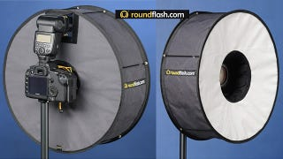 Illustration for article titled RoundFlash Soft Box Improves Your Portraits with a Donut Diffuser