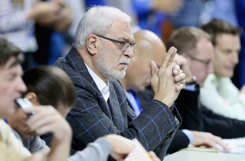 Illustration for article titled Exactly How High Is Phil Jackson Right Now?