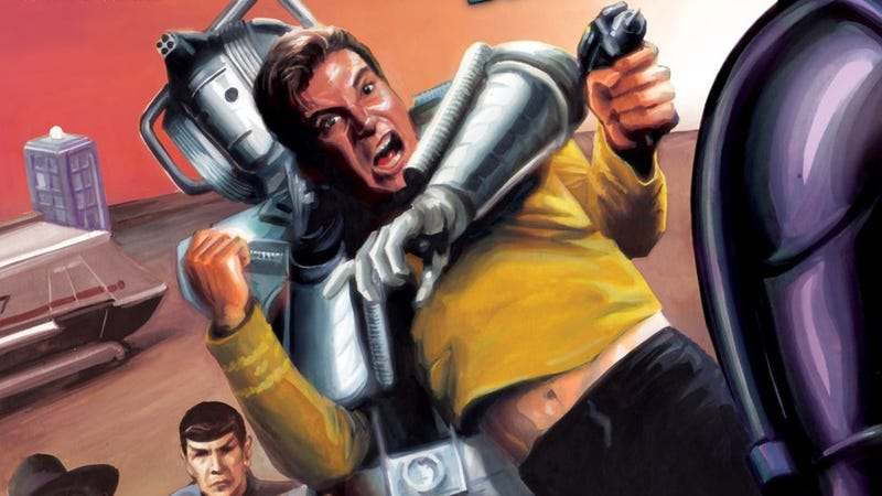 Illustration for article titled io9's March TV Madness: Star Trek vs. Doctor Who in the Final Championship!