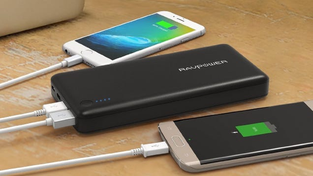 RAVPower's New Battery Pack Includes Every Advanced Feature Under the Sun