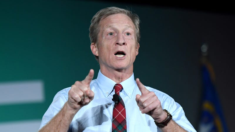 Illustration for article titled Newly Founded Steyer Institute For Political Research Poll Finds Tom Steyer Leading 2020 Democrats At 95%
