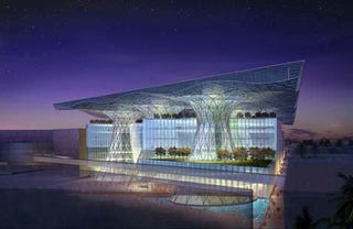 Illustration for article titled Masdar HQ: World's First Positive Energy Building