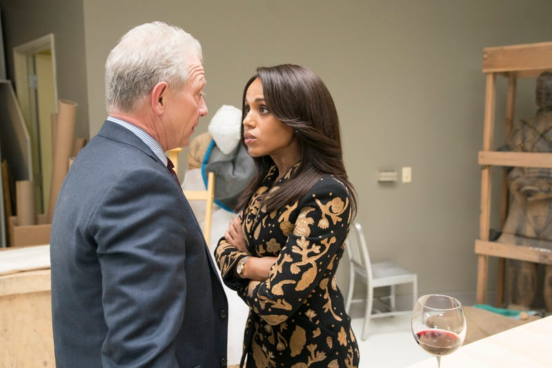 Jeff Perry (left), Kerry Washington