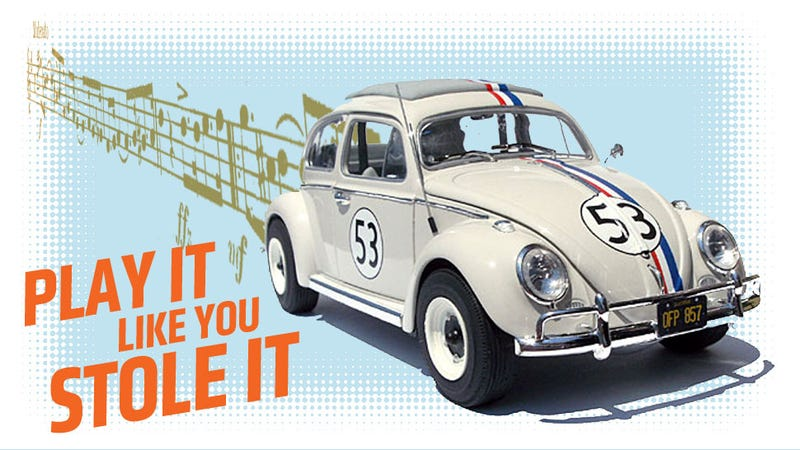 Illustration for article titled Was The Love Bug Theme Song Stolen?