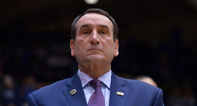 Duke Coach Mike Krzyzewski Criticized As He Bans Players From Locker Room
