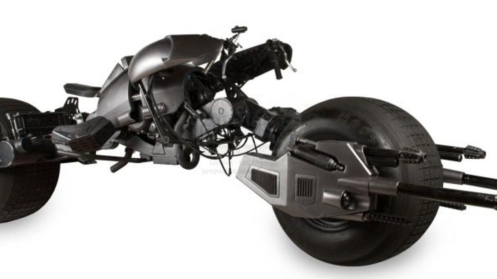 Ya puedes comprar la verdadera moto de Batman en The Dark Knight (si tienes 100.000 dólares)
