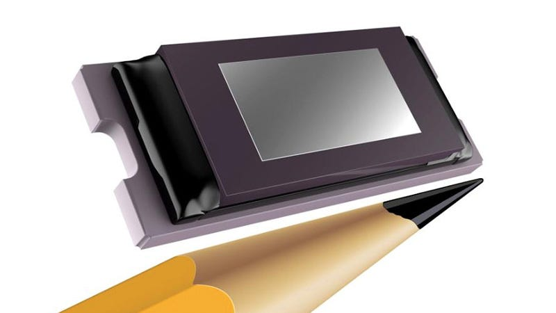 Illustration for article titled A Tiny HD DLP Chip Could Finally Put a Projector in Your Phone
