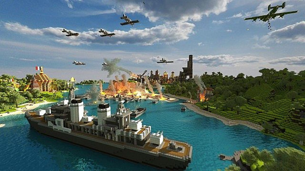 We're Finally Excited About a WWII Game Again  It's    Minecraft?