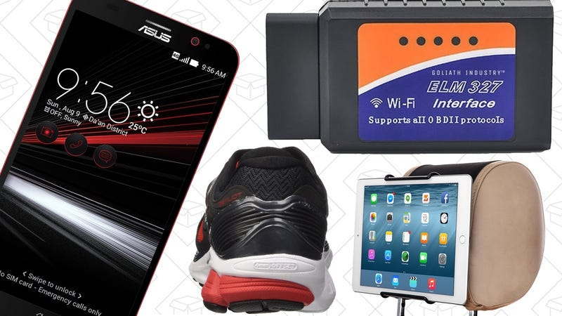 Illustration for article titled Today's Best Deals: ASUS Smartphone, Saucony Running Gear, Free Chick-Fil-A, and More