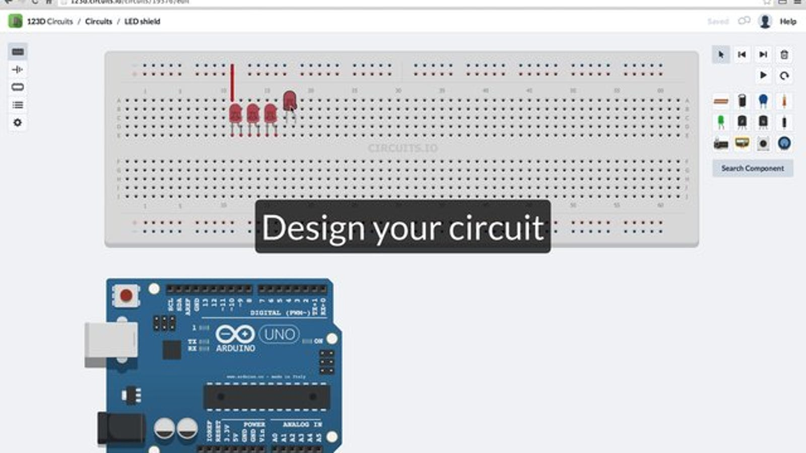 123D Circuits Is a Free, Collaborative Electronics Design Tool