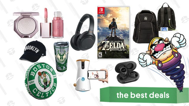 Thursday's Best Deals: Mpow X5 Wireless Earbuds, Switch Games, NBA Accessories, Fenty Diamond Bomb Baby, Furbo Dog Camera, and More