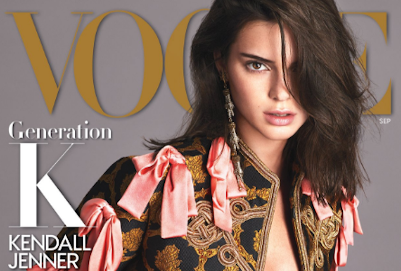 Illustration for article titled Kendall Jenner Finally Got a (Real) Vogue Cover, and It's the Big One