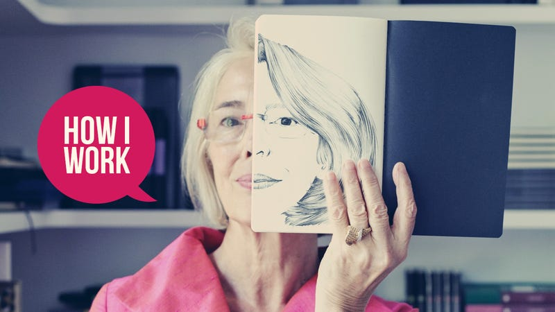 Illustration for article titled I'm Maria Sebregondi, Co-Founder of Moleskine, and This Is How I Work