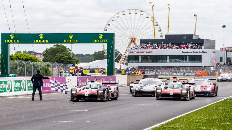 Illustration for article titled Toyota Wins The 24 Hours Of Le Mans With Precision From Pole