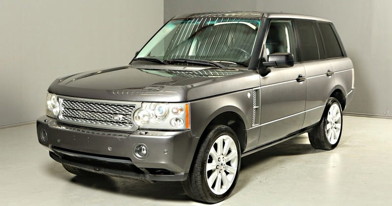 Illustration for article titled You Can Buy This Supercharged Range Rover For The Price Of A Ford Fiesta