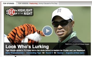 "Illustration for article titled ""Lurking"" Tiger's Hogan Bragging: Your Masters Open Thread"