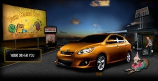 Illustration for article titled 2009 Toyota Matrix  Ad Campaign Prank Oriented